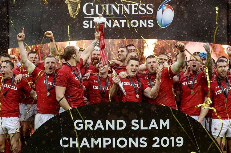 Wales crowned Guinness Six Nations champions.