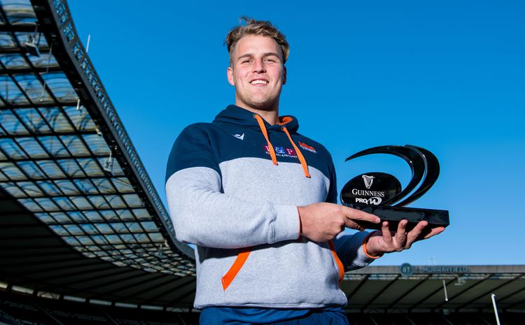 VAN DER MERWE IS PRO14'S PLAYERS PLAYER OF THE YEAR