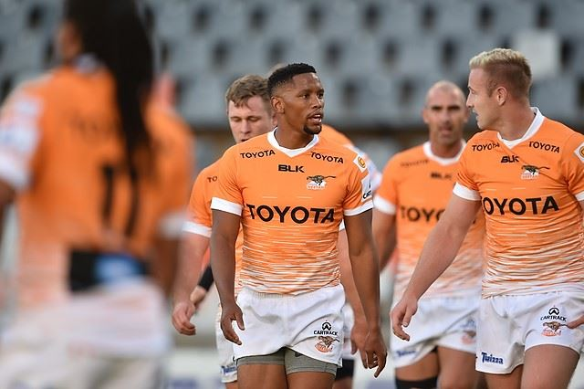 Toyota Cheetah squad for warm-up match