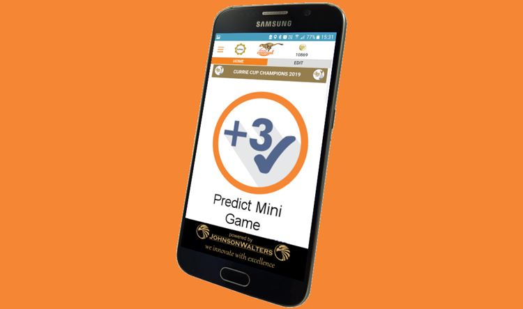 Predict the Score on the Cheetahs App and WIN