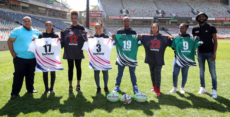 Free State Women's Rugby clubs boosted by #BetwayCares drive