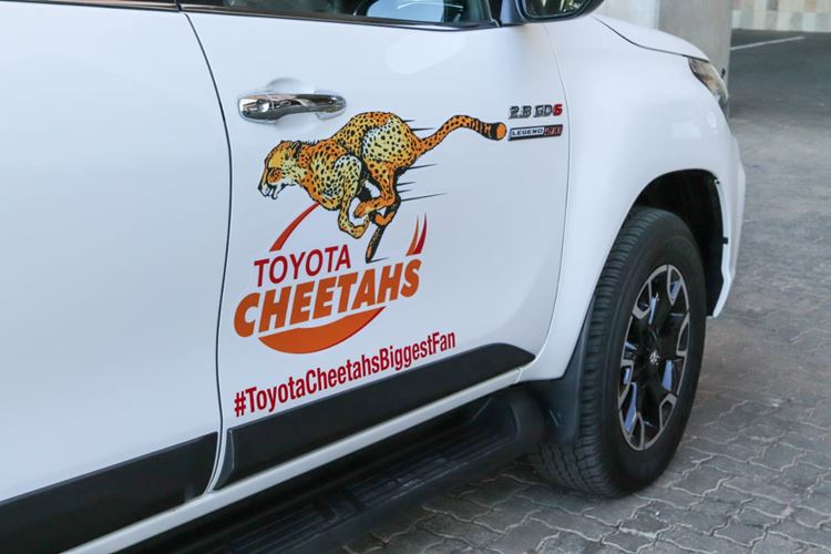 Toyota Cheetahs Biggest Fan Winner