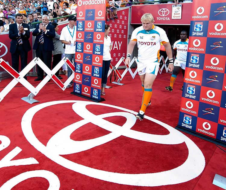 CONGRATULATIONS TOYOTA – OFFICIAL SPONSOR OF THE TOYOTA CHEETAHS FOR 10 YEARS!
